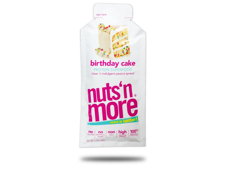 Free Nuts'n More Birthday Cake High Protein Peanut Spread