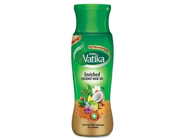 Free Dabur Vatika Enriched Coconut Hair Oil!