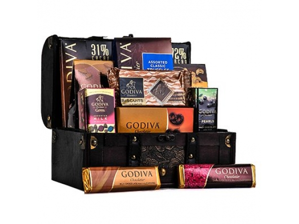 Free Godiva Chocolate + Coffee Gift Basket!