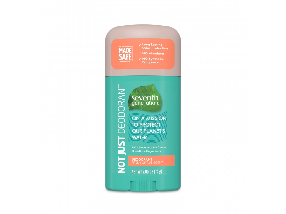 Free Citrus Deodorant From Seventh Generation