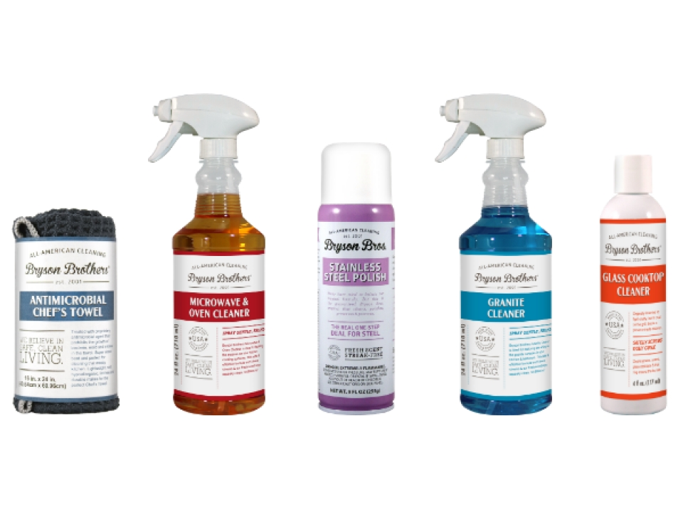 Free Cleaning Products From Bryson Brothers